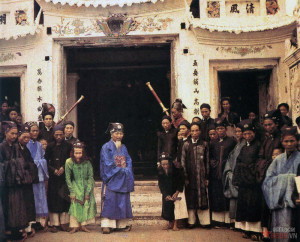 Các chức sắc ở làng HN 1915