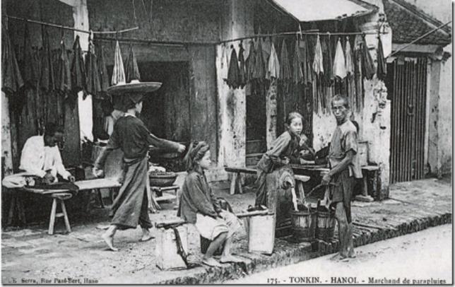 Phố Hàng Vải 1902