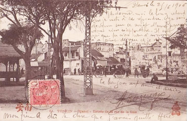 Bưu ảnh HN 1906