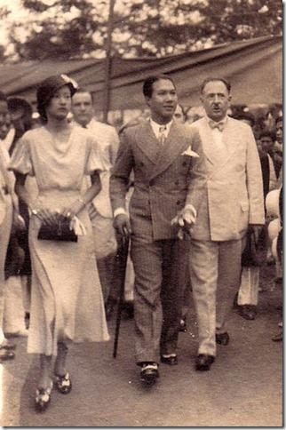 Ảnh cưới Bảo Đại 1934
