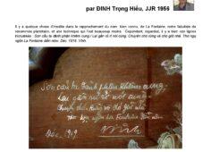 Đồ khảm xà cừ ghi tên La Fontaine