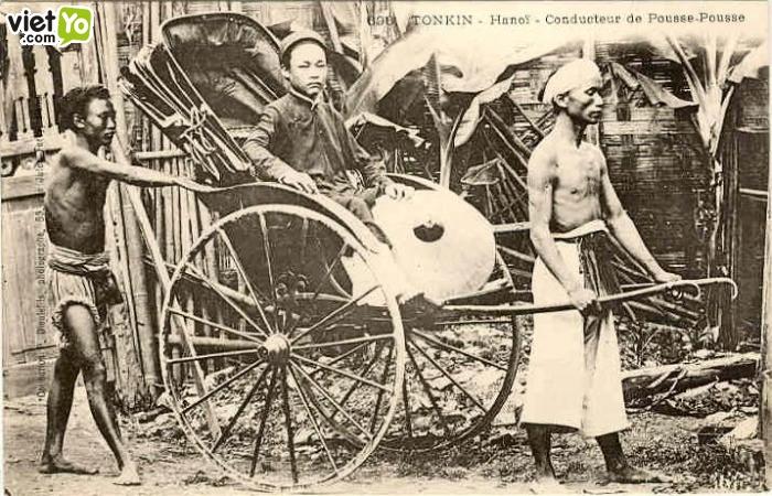 Cảnh chụp người dân VN.đầu TK XX